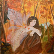 Otoño Angel en Woodland. Jack Cartwright