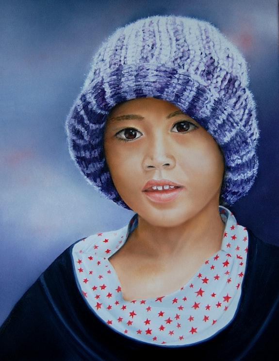 Enfant de Bali. Houmeau Houmeau