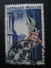 Mi colección de sellos, 1 - Joyería y Platería 1954. Véronique Romance