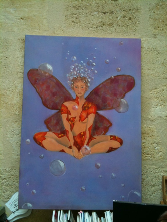 Woman Butterfly. Sbx Sbx