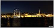 Saint Malo Intra Muros By Night.