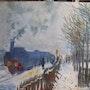 Der Zug im Schnee. Chantal Charroux