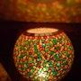"""Mosaico de la lámpara - lámpara de la fragancia """"armonía"""". Diana Rosa Scholl"""