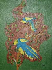 Azul aves. Nanael