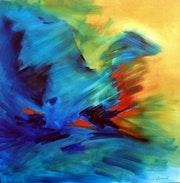 «Menthe à l'eau» - toile réalisée en 2006.