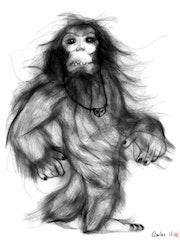 Bigfoot. Carlos Garcia