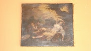 Pintura Fregona antiga original tem mais de 200 anos ! !.