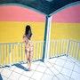 soledad - Desnuda en la terraza. L. Chan