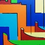Abstract Collioure. Jacques Rosso