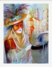 Carnival in Venice. Monique Martin