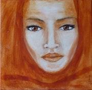 "Portrait of Julia ""red venice""."