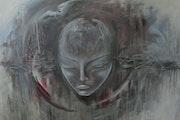 'Fagile': una representación de la fragilidad de la mente humana.. Hazel Fimmano