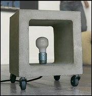 Lamp Concrete Design. Christophe Rolot