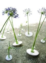 Vase béton moyen. Christophe Rolot