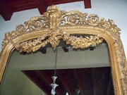 Sell large format antique mirror. Ricardo Balnch