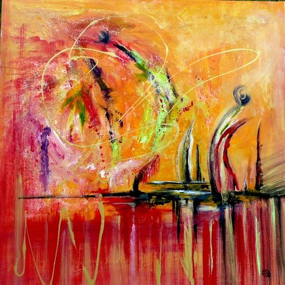A new horizon. Chris. B Christine Busquet