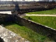 Entrée du château de la Roche-Guyon.