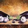 Eggplants. Jean-Marc Estellon