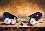 Les aubergines.