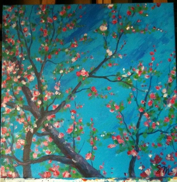 Frühling.  Sandrine Millet