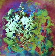 Los corazones (Hearts). Martine Pierre - Artiste Peintre- Activités Artistiques