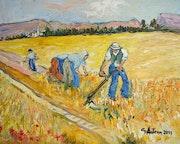 Three farmers field.