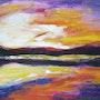 Sunset. Helene Moya