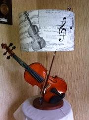 "Violin Light ""Unique Collection""."