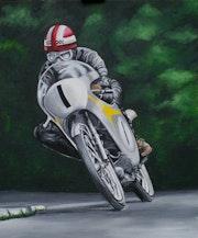 Carreras de motos Ralph Bryans. Alexa B