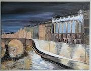 Paris, le Musée d'Orsay et la Seine. Sergey Kuimov