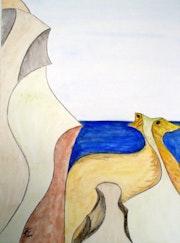 Bild 497: «Küstenlandschaft».