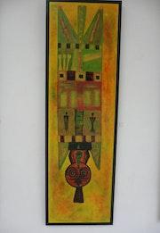 Arte Africano máscara. Valérie Daigre