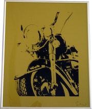 Harley Davidson Glide. Pld