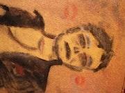 Paul Fromm en cuir. Artiste Indépendante.