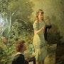 Peinture Grand Artiste Van Sebben. Murielle Grillo