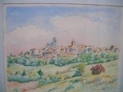 Vezelay, unsterblich Hügel. Patrick Montenache