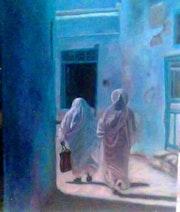 La lumiére de tunisie. Monia Namsi