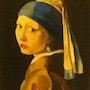 Copie d'atelier «la jeune fille a la perle» (2003). Philippe Negre