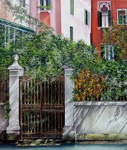 Licht und Schatten in Venedig. Houmeau