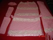 Pink dress. Marta Arberas