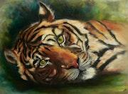 Tiger. Gabriele Lutz