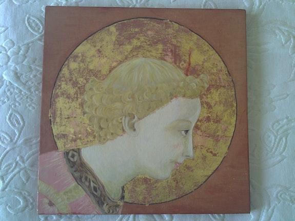 Portrait de l'ange de l'annonciation. Fra Angelico Gazelle