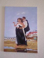Thema romantischen Strandspaziergang. Tania. Hoenner