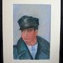 2007. Pastel Portrait of Dad. Patricia Vivier Robert » Pat V »