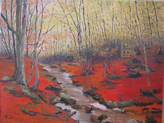 Les Cascades d'ORGON ou Les Sous-bois Cévenols en Automne. Philippe Negre Philippe Negre