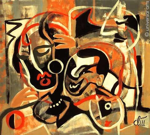 Nightmares - Original Gemälde - Jacqueline_Ditt. Jacqueline Ditt Universal Arts Galerie Studio Gmbh