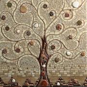 Baum des Lebens. Corinne Lelaumier