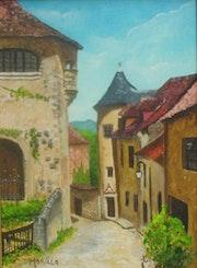 Village de Curemonte. Morilla