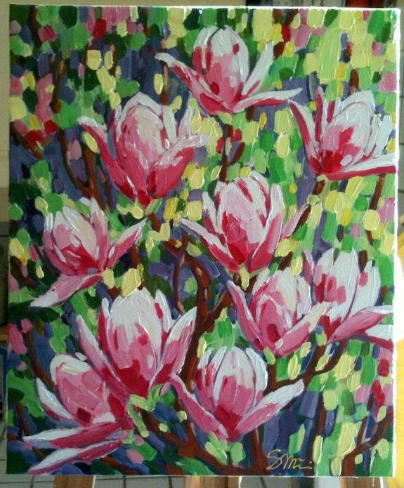 Magnolias de celebrar!.  Sandrine Millet
