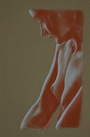 Sangre perfil de mujer. Philippe Flohic